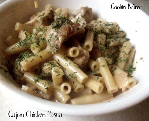 Cajun Chicken Pasta from Cookin' Mimi