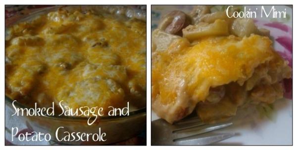 Cookin' Mimi: Smoked Sausage and Potato Casserole