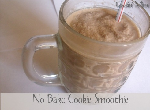 This easy smoothie has the flavors of a no bake cookie.