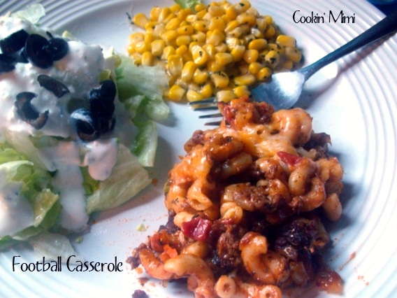 football casserole from Cookin' Mimi
