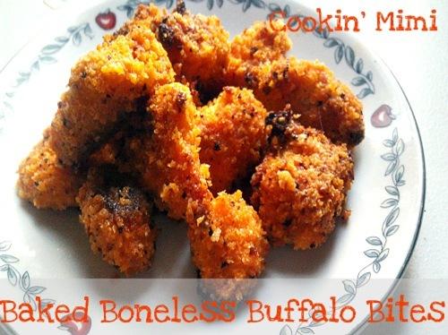 baked boneless buffalo bites