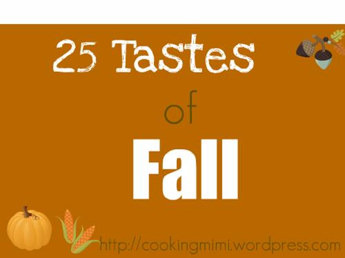 tastes of fall banner