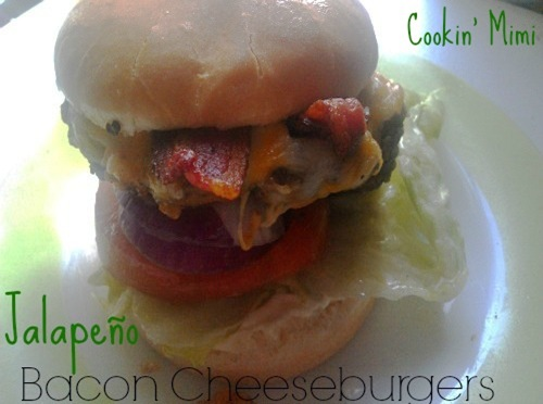 Jalapeno bacon cheeseburger  Cookin' Mimi cookingmimi.wordpress.com