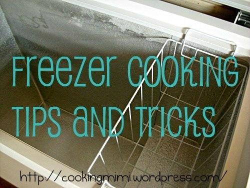 Tips and Tricks on How To Freeze Meals http://cookingmimi.com