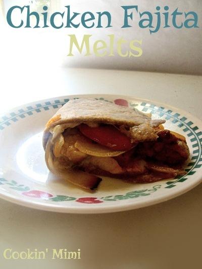 Chicken Fajita Melts for #WeekdaySupper