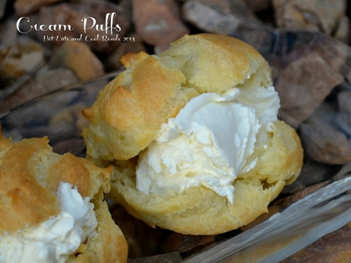 Cream Puffs from Hot EatsandCool Reads.com