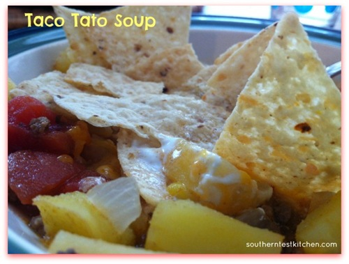 Taco Tato Soup from Southern Test Kitchen